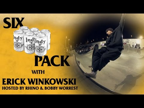 Six Pack with Erick Winkowski: LIVE at Tampa Pro 2017 | Hosted by Bobby Worrest and RHINO