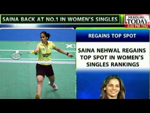 Saina Nehwal Regains Number 1 Spot In Women's Singles Rankings