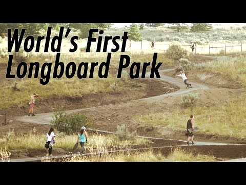 World's First Longboard Park!