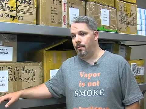 FDA to regulate electronic cigarettes as tobacco - news interview with Vapor Kings