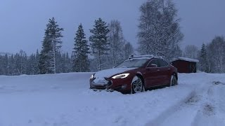 #21 Tesla Model S road trips: Farewell Oslo, for now part 1