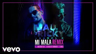 Mau Y Ricky Karol G Mi Mala Remix Audio Ft Becky G Leslie Grace Lali