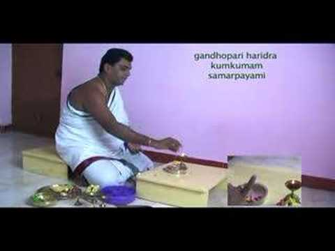 How To Perform Ganesha Puja video