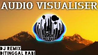 Via Valen - Ditinggal Rabi (DJ Remix 2018) Audio Visualizer