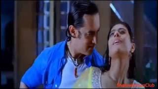 Kajol Hot Sexy Kissing Scene Boobs Bouncing Rain Hot Scene Kajol Ajay Devgan Full Hot Sexy Scene