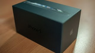 Apple iPhone 5 Unboxing and Overview