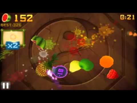Fruit Ninja Arcade on Android!