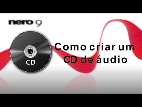 Como gravar um CD de áudio