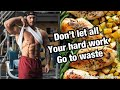 Reverse Diet & Keeping On Track Post Show | Full Day Of Eating