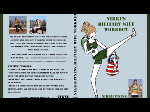 Military Wife Workout DVD (DEMO, full workout at www.nikkifitness.com)
