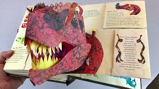 "The Definitive Pop-Up Book ""Encyclopedia Prehistorica Dinosaurs"" by Robert Sabuda & Matthew Reinhart"