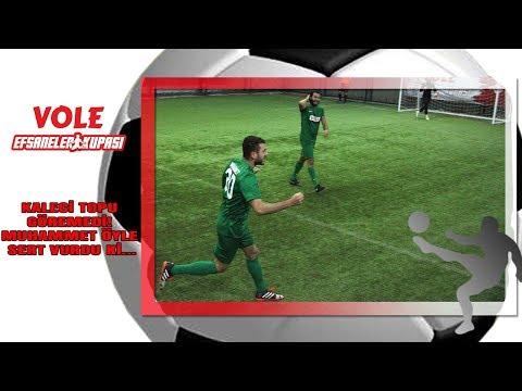 Vole Efsaneler Kupası | Kaleci topu göremedi! Muhammet öyle sert vurdu ki...