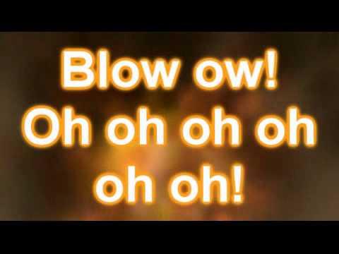 Ke$ha (Kesha) - Blow (Official Lyrics on Screen Video)