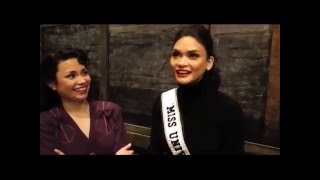 Pia meets Lea in New York