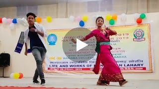 Siri Siri Nwng || Duet dance from Bangtol College at Barama College || Local Show BODOWOOD