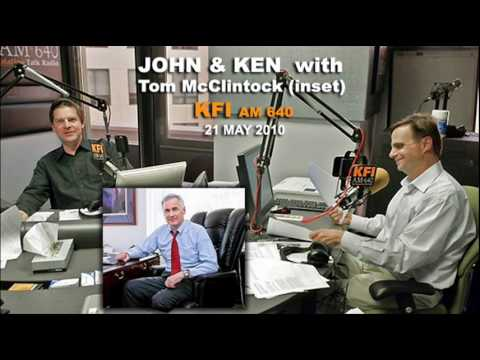 John & Ken interview Tom McClintock