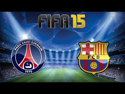 FIFA 15 - UEFA Champions League: PSG X Barcelona - Ida