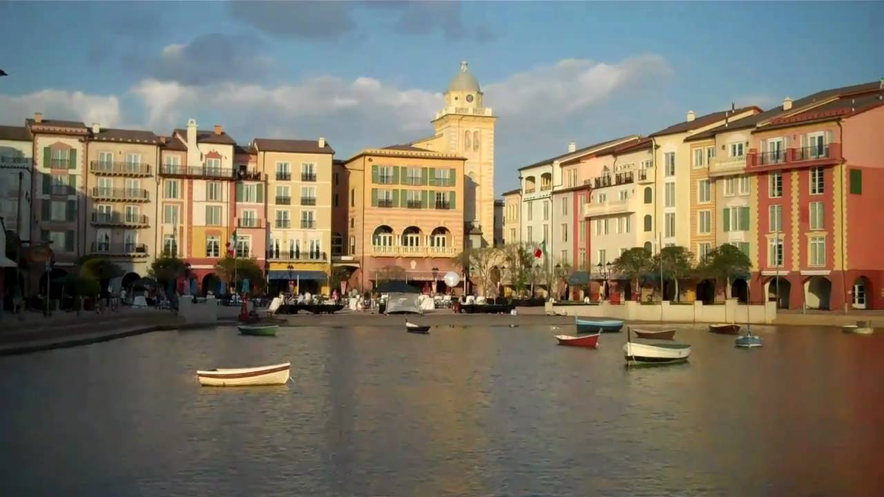 loews portofino bay hotel orlando florida youtube