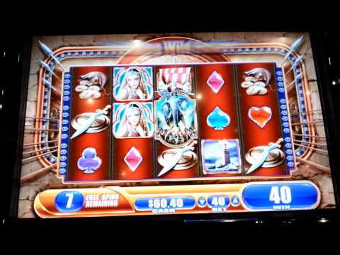 Alexander the Great Bonuses WMS Slot Machine