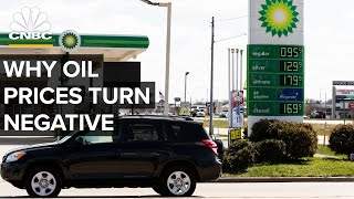 Why Oil Prices Can Turn Negative