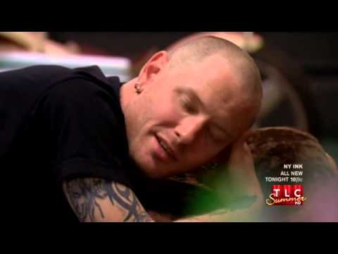 Corey Taylor on NY Ink - Full Clip (HQ) - Slipknot 2011 Paul Gray Memorial tattoo