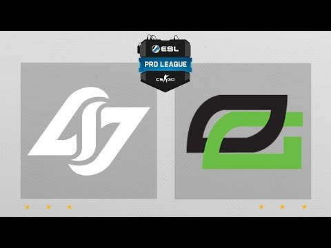 CS:GO - CLG vs. OpTic [Overpass] Map 1 - ESL Pro League Season 4 - NA Matchday 24