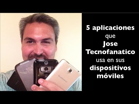 Que Aplicaciones tiene Jose en sus dispositivos móviles