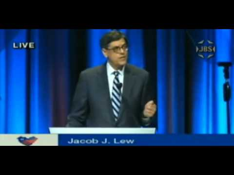 Jack Lew jeered at JPost Conference