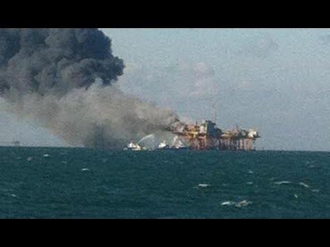Gulf Oil Rig Explosion