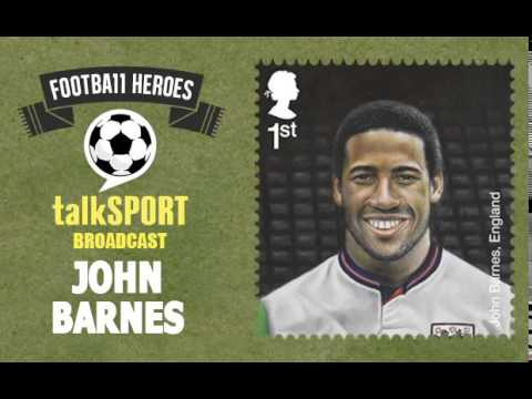 Royal Mail Football Heroes Stamps -- talkSPORT: John Barnes