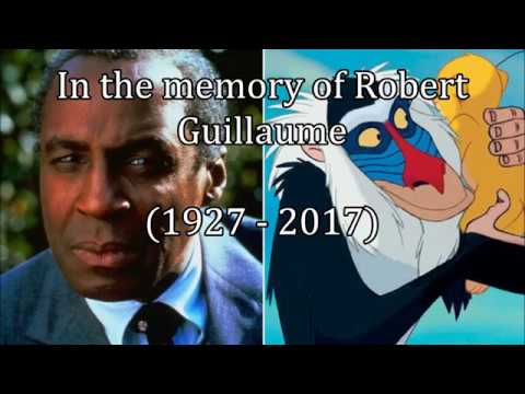 In the memory of Robert Guillaume