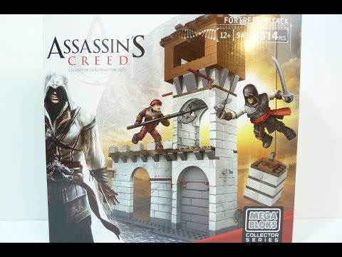 Rob A Reviews Mega Bloks Assassin's Creed Fortress Attack