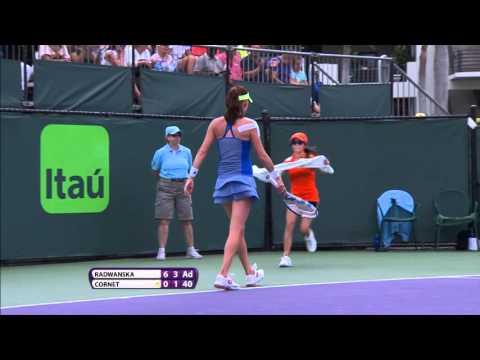 2016 Miami Open Second Round Hotshot | Agnieszka Radwanska