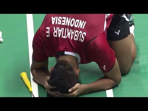 |F| Match 1 Macau Open Badminton Championships 2014