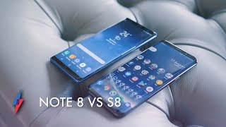 Galaxy Note 8 vs Galaxy S8 Plus - What