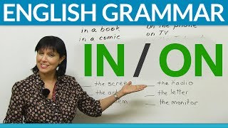 English Prepositions: IN or ON?