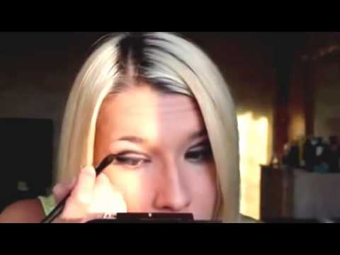 Макияж и прическа на Новый Год New Year make up & hair tutorial YouTube