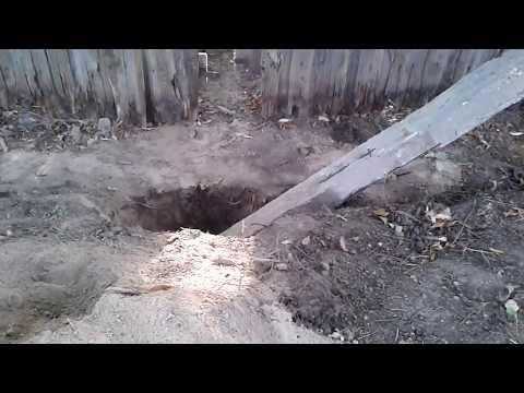 Как легко достать столб из земли!.avi Doovi