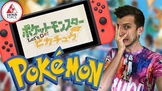 INSANE REACTIONS Pokemon Let's Go Pikachu & Eevee (Pokemon Switch CRAZY Fans + Memes)