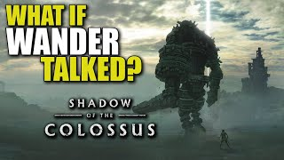 What if Wander Talked? (Parody) - Shadow of the Colossus - TheHiveLeader