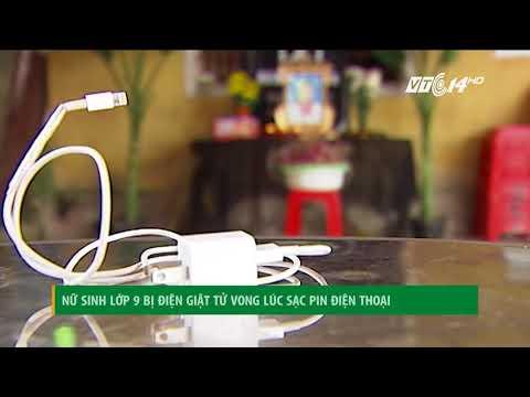 VTC14 | Nữ sinh lớp 9 bị điện giật tử vong lúc sạc pin điện thoại | VTC14