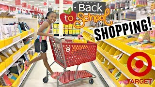 BACK TO SCHOOL SHOPPING AT TARGET 2018!  BACK TO SCHOOL VLOG.