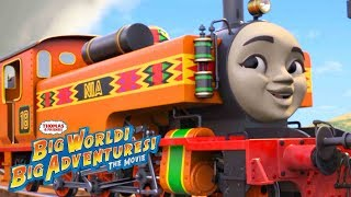 Wake Up 🎵Music Video | Big World! Big Adventures! The Movie | Thomas & Friends UK | Sing Along