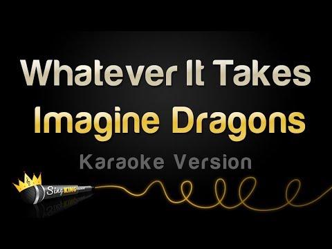 Download Lagu  Imagine Dragons - Whatever It Takes Karaoke Version Mp3 Free
