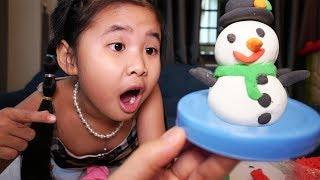 Bé Bún Làm Olaf Bằng Đất Sét Đồ Chơi Trẻ Em  How To Make Olaf  with Clay