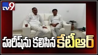 KTR, Danam Nagender and Srinivas Goud met with Harish Rao, KK