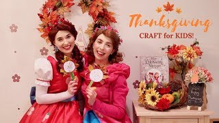 Thanksgiving Craft for Kids with Poppy & Posie! | Fun and Educational Kids' Show About Gratitude