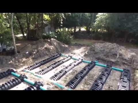 Septic System Installation Using Infiltrator Quick4