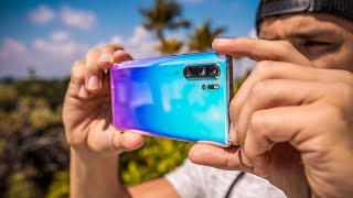 EXCLUSIVE: First Footage From the AMAZING Huawei P30 Pro!