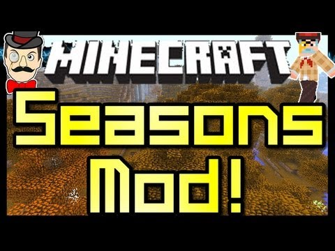 Minecraft SEASONS Mod Spring Summer Autumn Winter